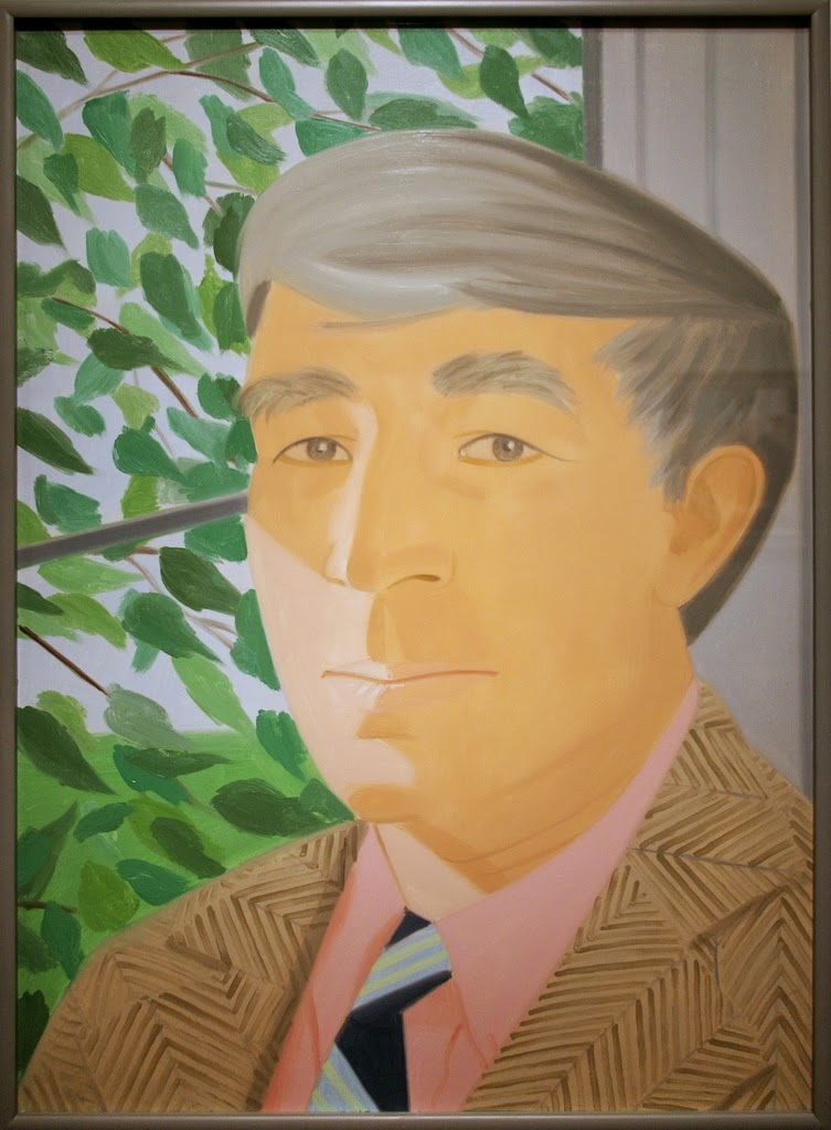 Painting of John Updike.  Source: https://flic.kr/p/6fRSKz