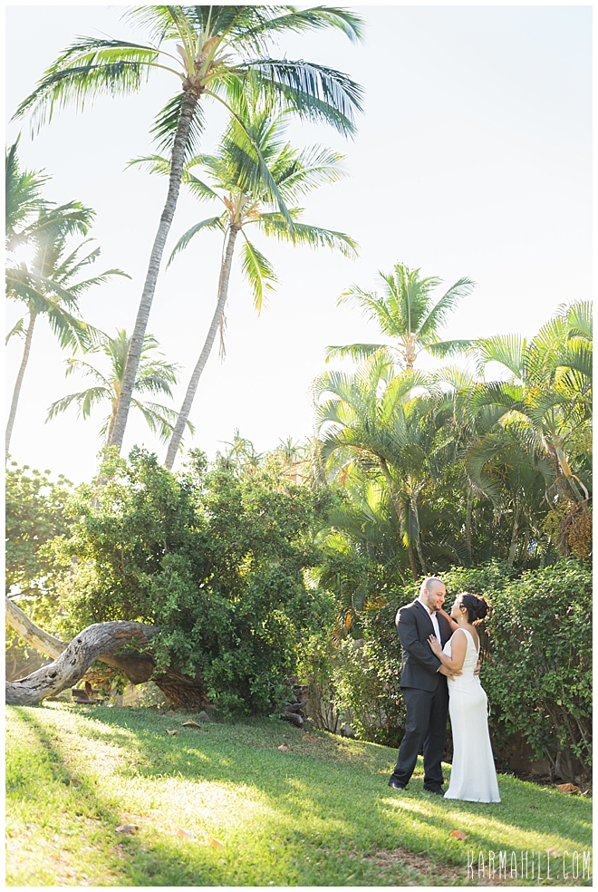 Maui Wedding Portrait Photography