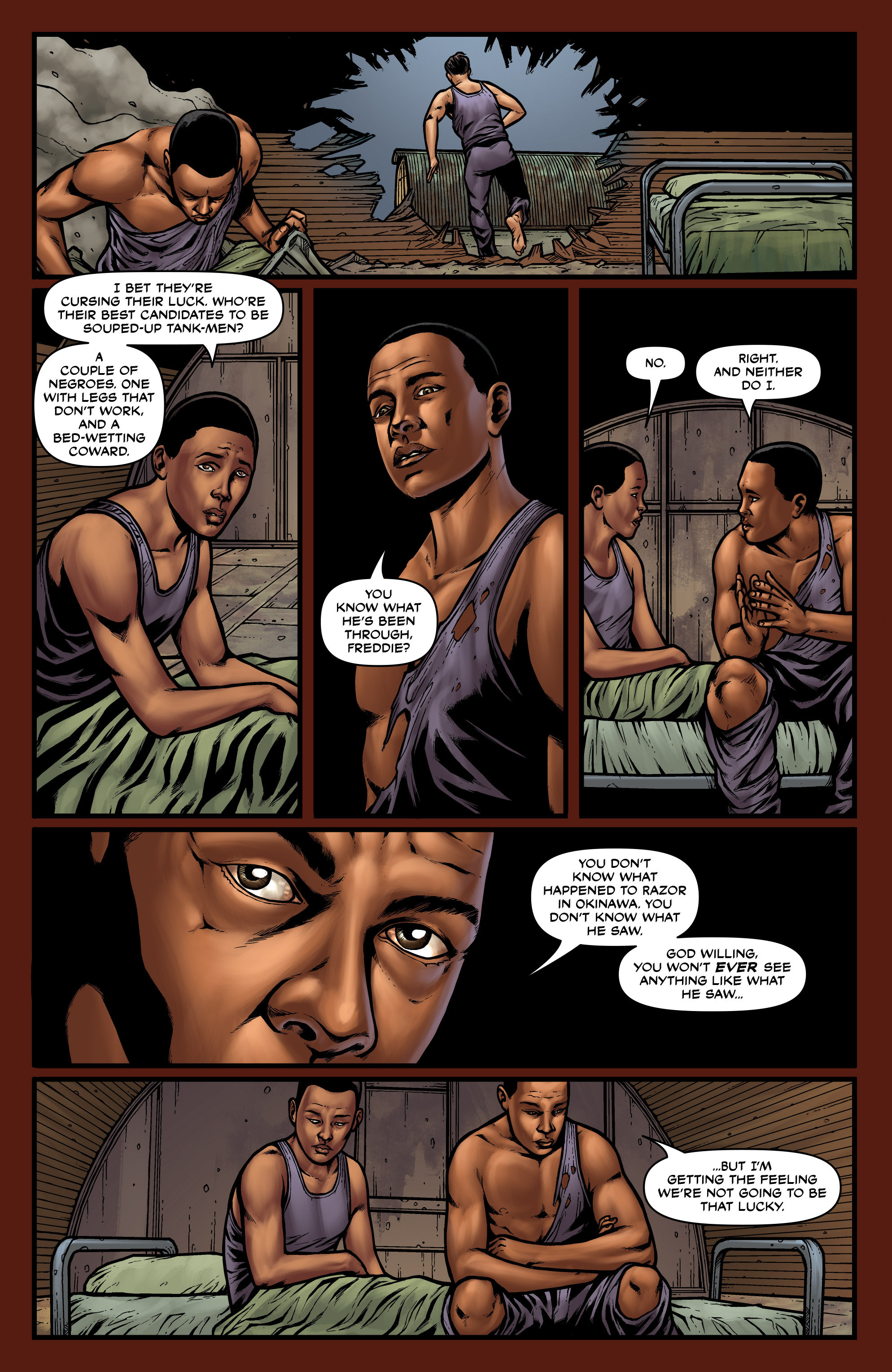 Read online Uber comic -  Issue #27 - 21