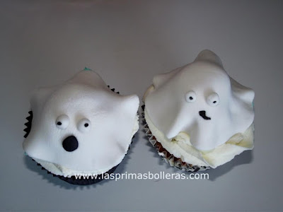 cupcake halloween fantasma