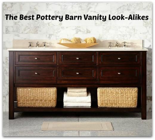 Pottery Barn Look Alike Bathroom Vanities