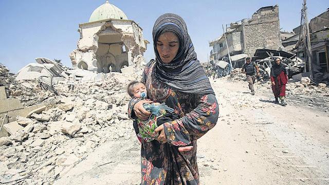 Mosul, una tumba para 40.000 civiles