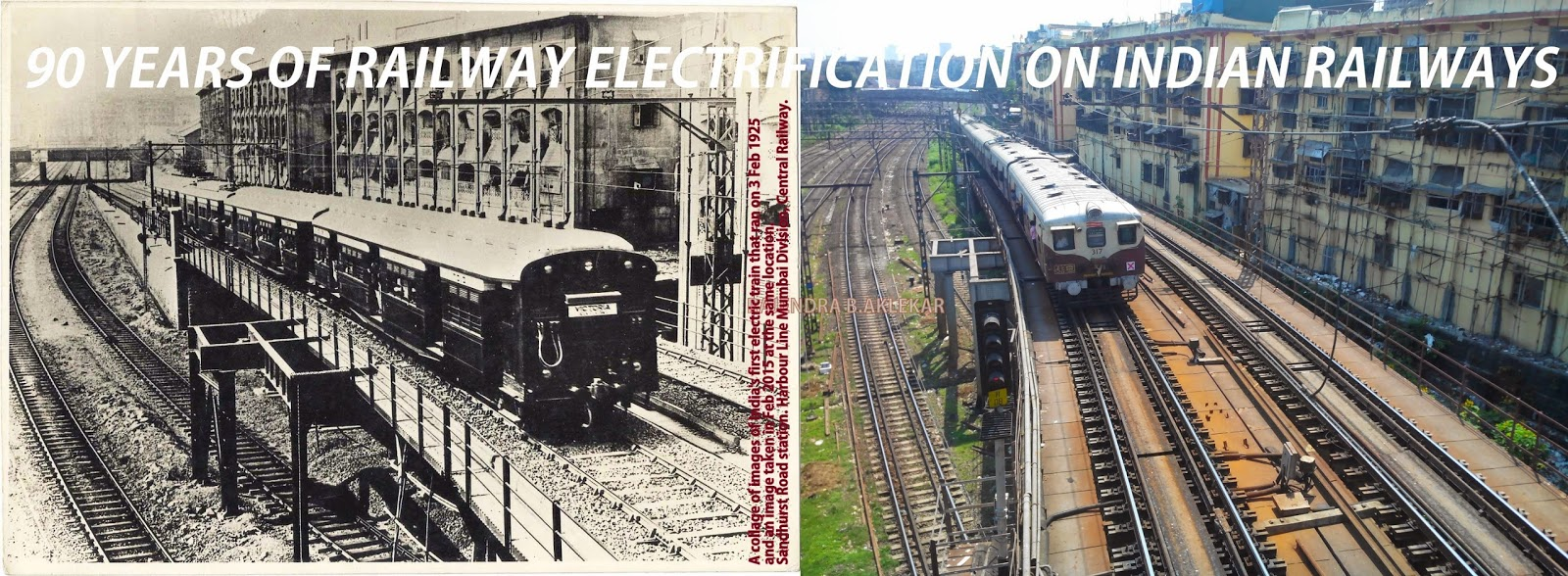 Bombay Railway & History Group: Historic day! 90 years of electric