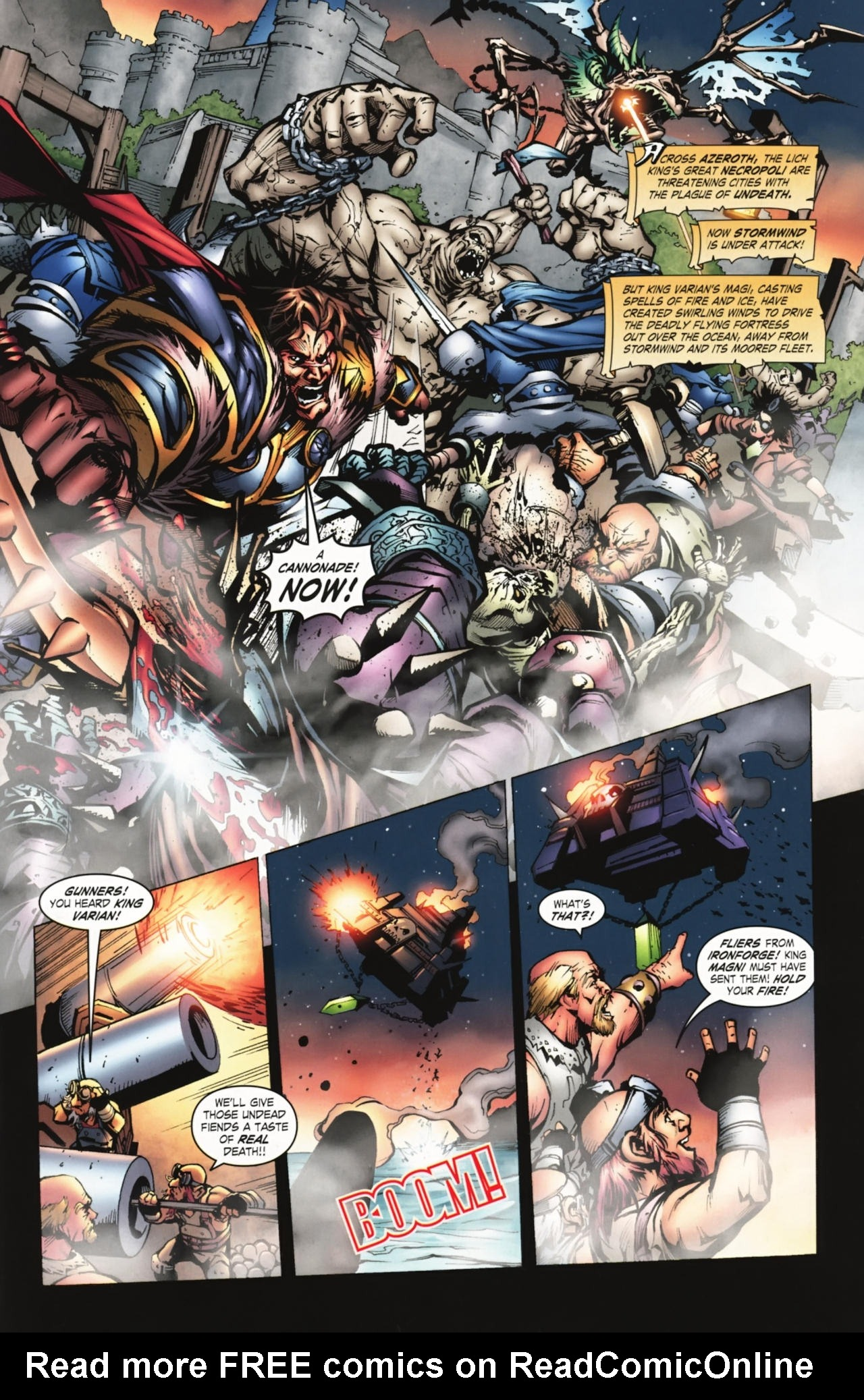 Read online World of Warcraft comic -  Issue #20 - 2