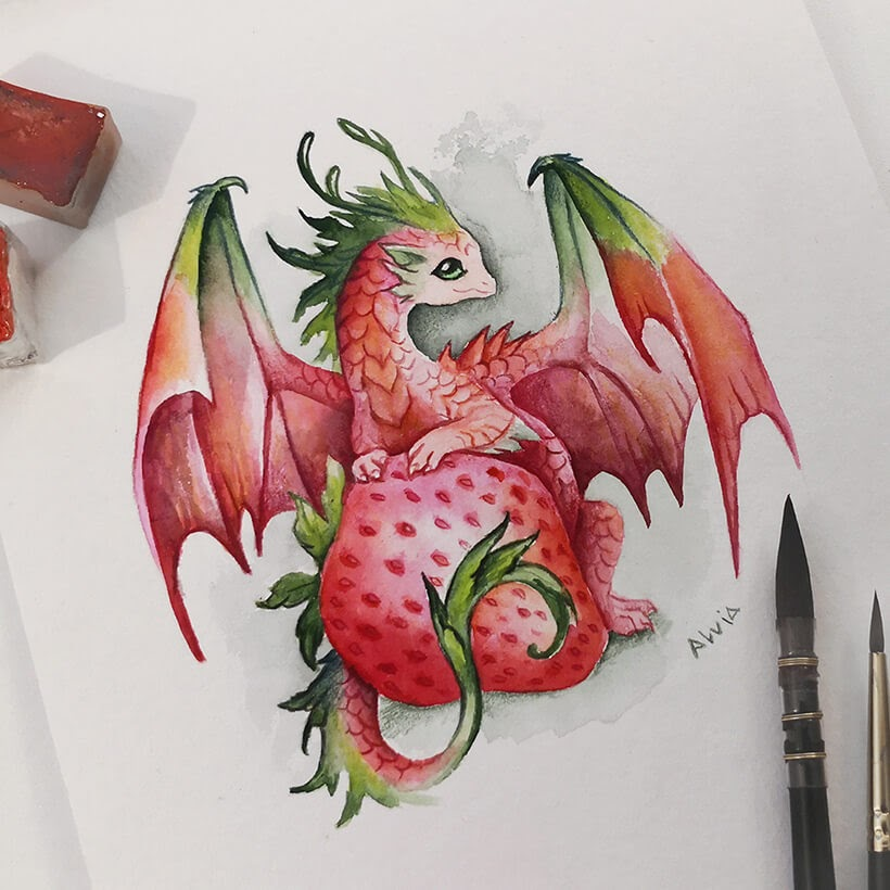 05-Strawberry-dragon-Alvia-Alcedo-www-designstack-co