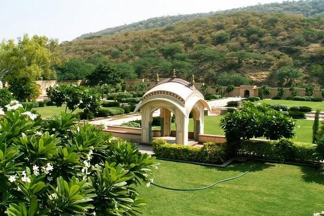 Sisodia Rani Palace and Garden, Jaipur,Rajasthan
