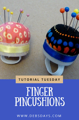 Quick and Easy Homemade Finger Pincushion Craft Project