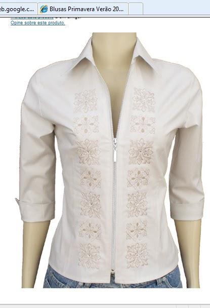 0add6c3257 Camisa uma peça que saiu do baú - Claudineia Antunes