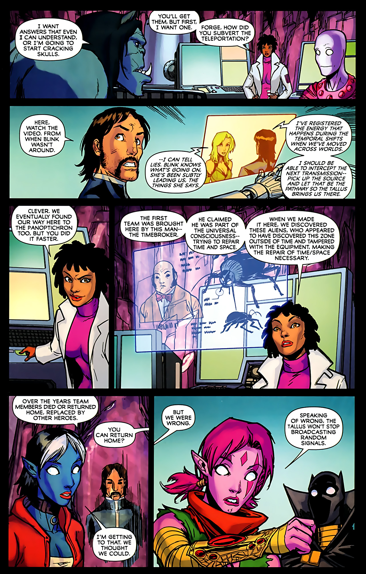 Read online Exiles (2009) comic -  Issue #6 - 26