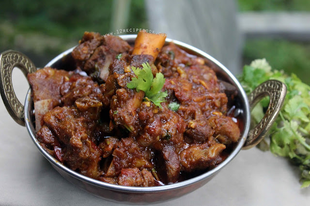 Bhuna Ghosht / Mutton Bhuna Masala