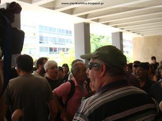 Όχι στους πλειστηριασμούς. (Θεσσαλονίκη 7--6-2017)