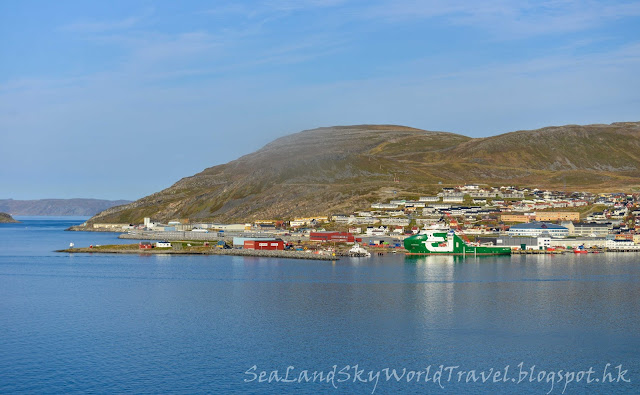 挪威 norway Hurtigruten 郵輪 Nordlys,Hammerfest