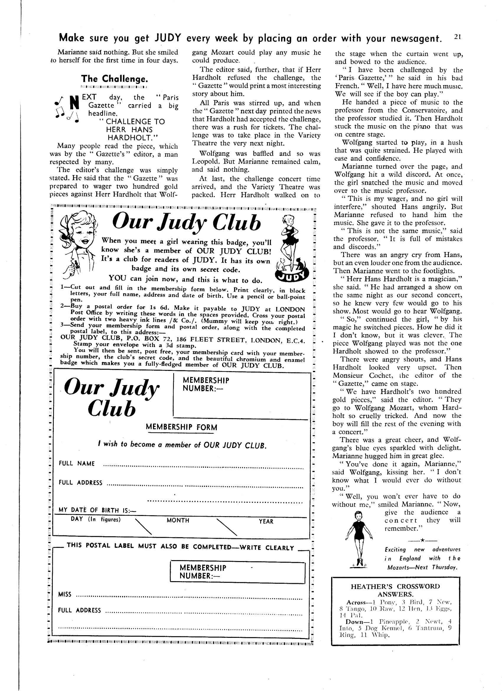 Read online Judy comic -  Issue #34 - 21