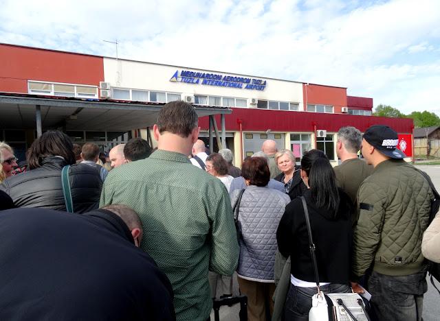 Tuzla International Airport in Bosnia & Herzegovina