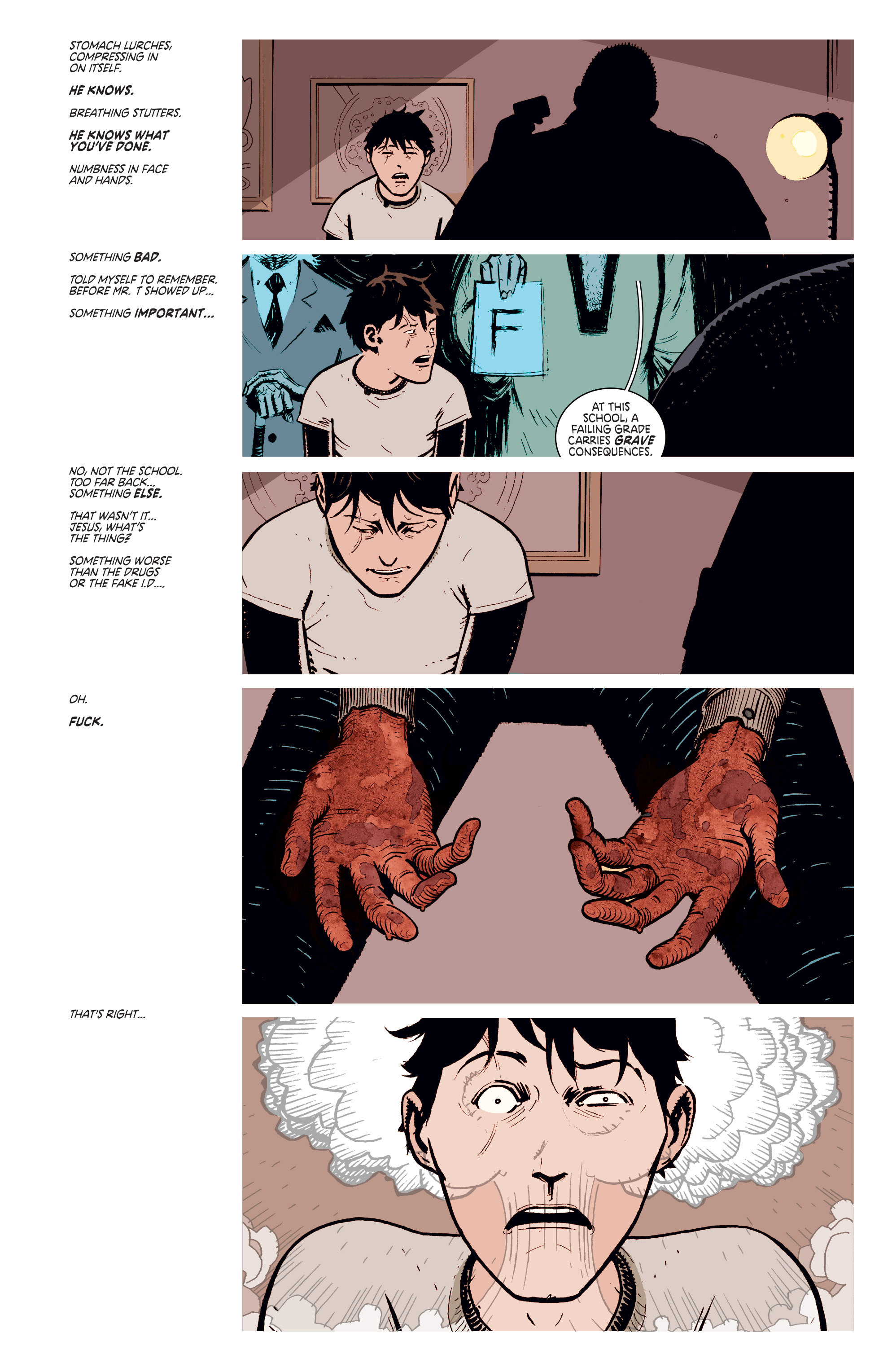 Read online Deadly Class comic -  Issue #4 - 4