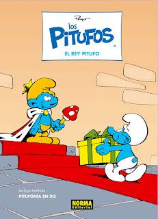 El rey Pitufo, por Peyo