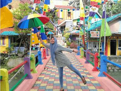 Kampung Pelangi Wonosari Semarang