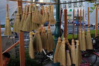 米澤ほうき工房 色々な種類の松本箒