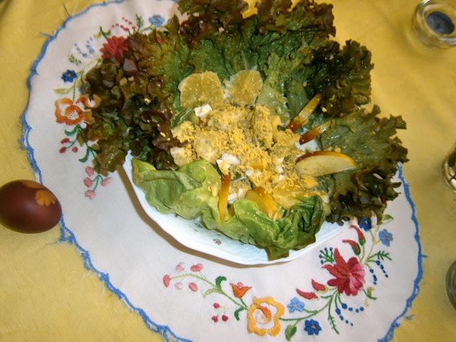 Tavaszi (tojás) saláta