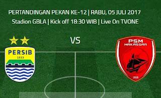 Prediksi Persib Bandung vs PSM Makassar 5 Juli 2017