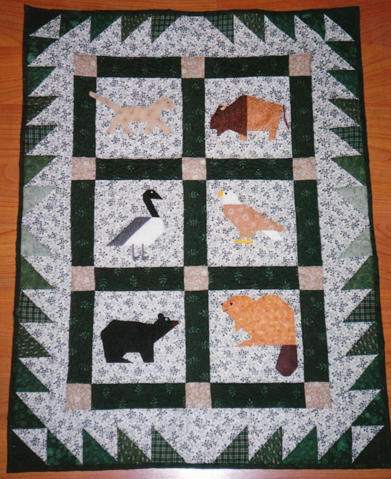 Quilt Patterns 4 Different Fabrics : Wayne s Quilts: Animals Down Under