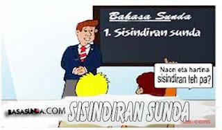 CONTOH SISINDIRAN BAHASA SUNDA, 4 DAN 6 BARIS/LARIK!