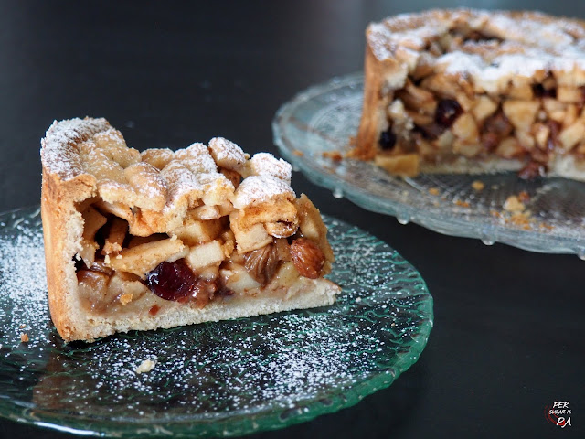 Appeltaart, la tradicional tarta holandesa de manzana.