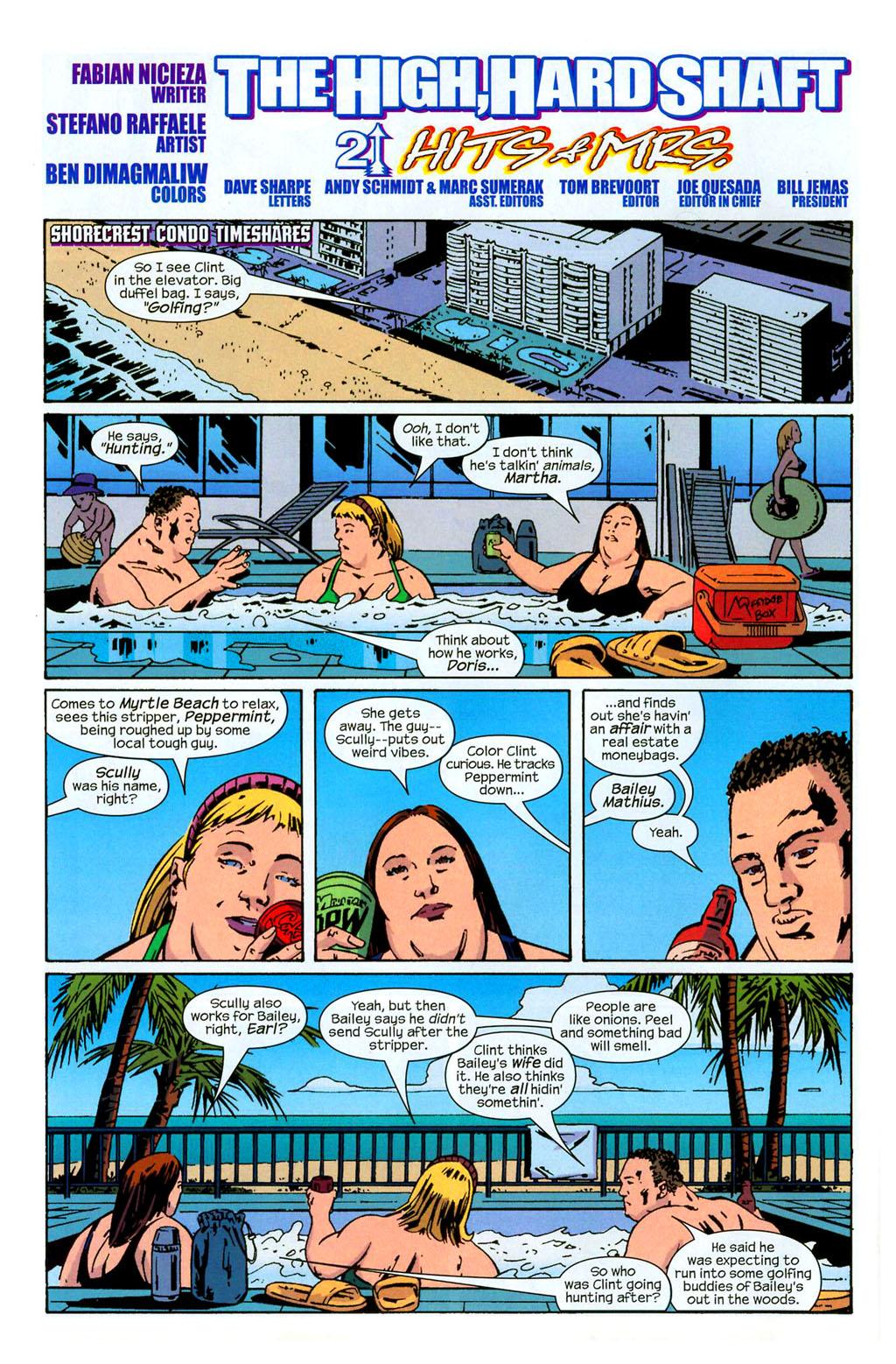 Hawkeye (2003) Issue #2 #2 - English 5
