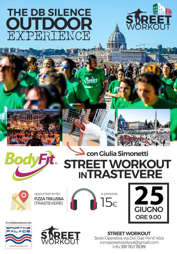 BODYFIT. In Street Workout Trastevere - 25 giugno a Roma