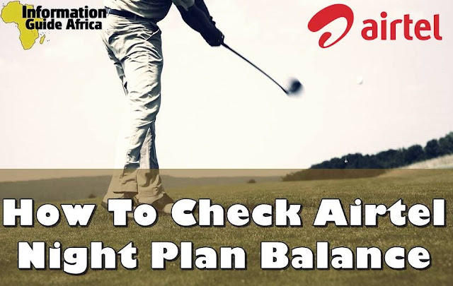 Airtel Night Plan Balance Check