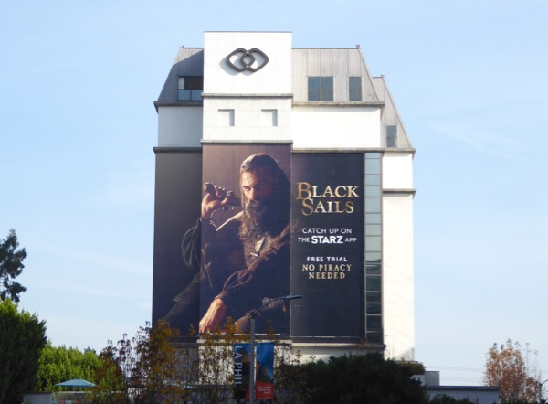 Giant Black Sails season 4 teaser billboard
