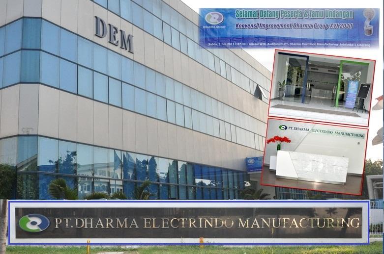 RECRUITMENT Loker Cikarang PT DHARMA ELECTRINDO MANUFACTURING