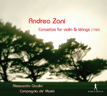 Zani: Concertos for violin and strings