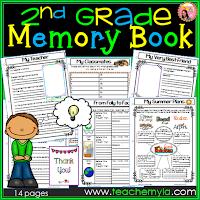 2nd-Grade-memory-book