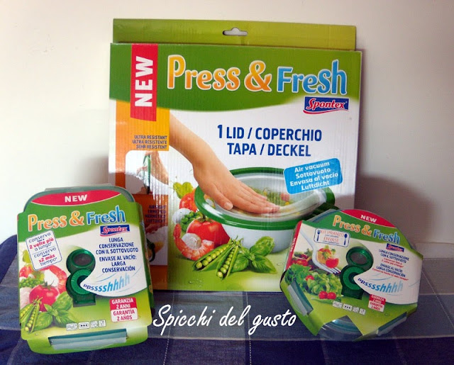 Spontex con Press&Fresh