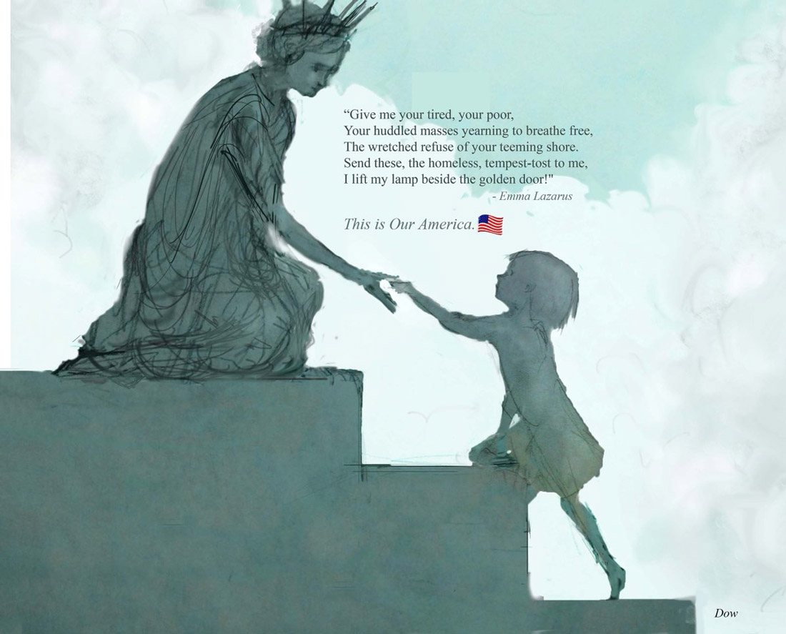 TO EMMA LAZARUS IN THE WAKE OF 45