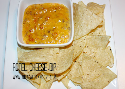 Rotel Cheese Dip The Peacock Roost Appetizer Snack