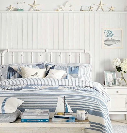 Coastal Country Bedroom