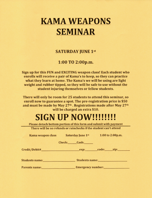 NFMA Kama Seminar 2019