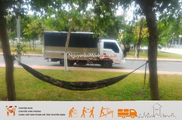 Dịch vụ cho thuê xe tải chở hàng NguyenloiMoving
