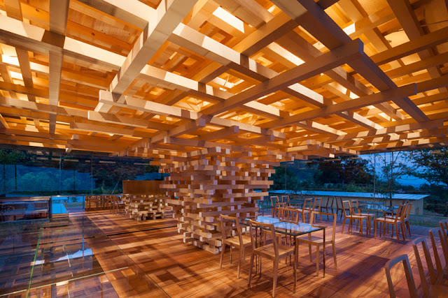 Kengo Kuma: a LAB for materials, at Tokyo Station Gallery