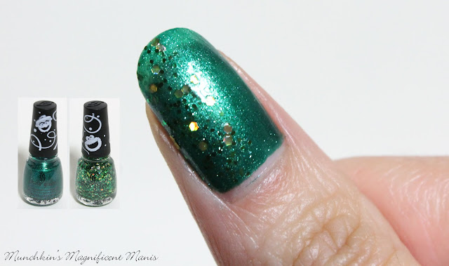 China Glaze Holiday Sesame Street Collection, Brought to you by & A Grouchy New Year.