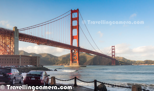 Golden Gate Bridge Tour During My Recent Visit To