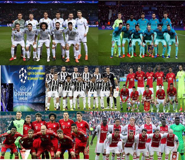 UEFA Şampiyonlar Ligini En Çok Kazanan 10 Şampiyon Takım - Kurgu Gücü