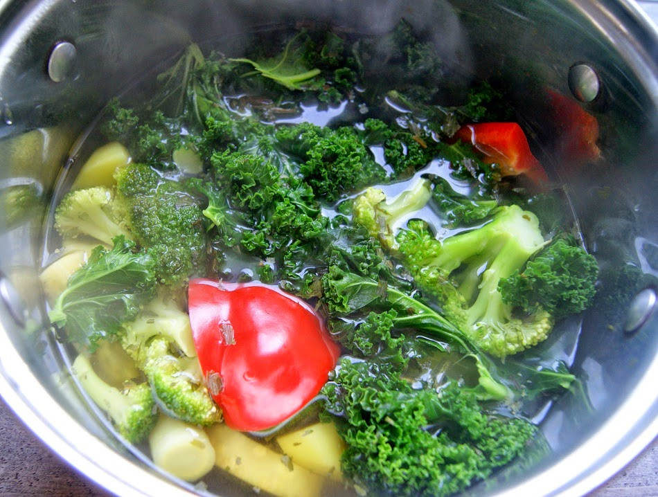 zupa jarmużowa