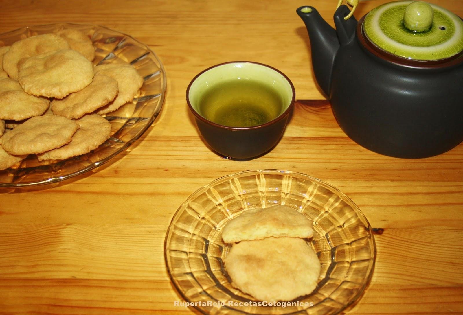 Galletas de almendra y limón (ceto)   Recetas Cetogénicas ( Ceto ...