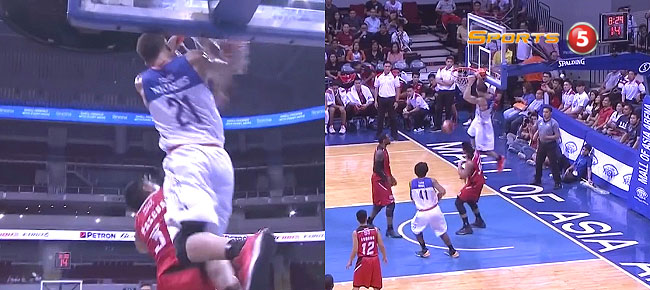 Kelly Williams Throws Down The Monster Dunk vs Blackwater (VIDEO)