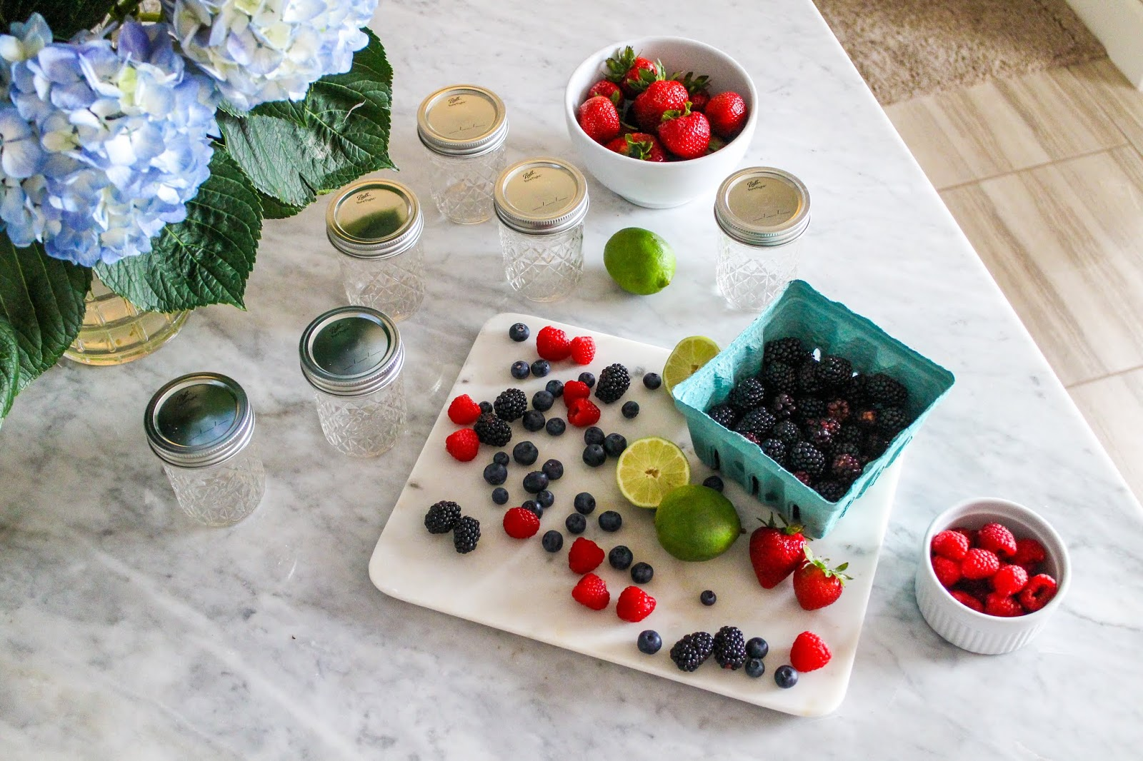 Summer Canning with Ball® | Mixed Berry Jam Recipe
