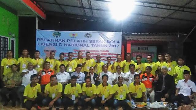 PSSI PALI Gelar Pelatihan Pelatih Sepak Bola Lisensi D Nasional