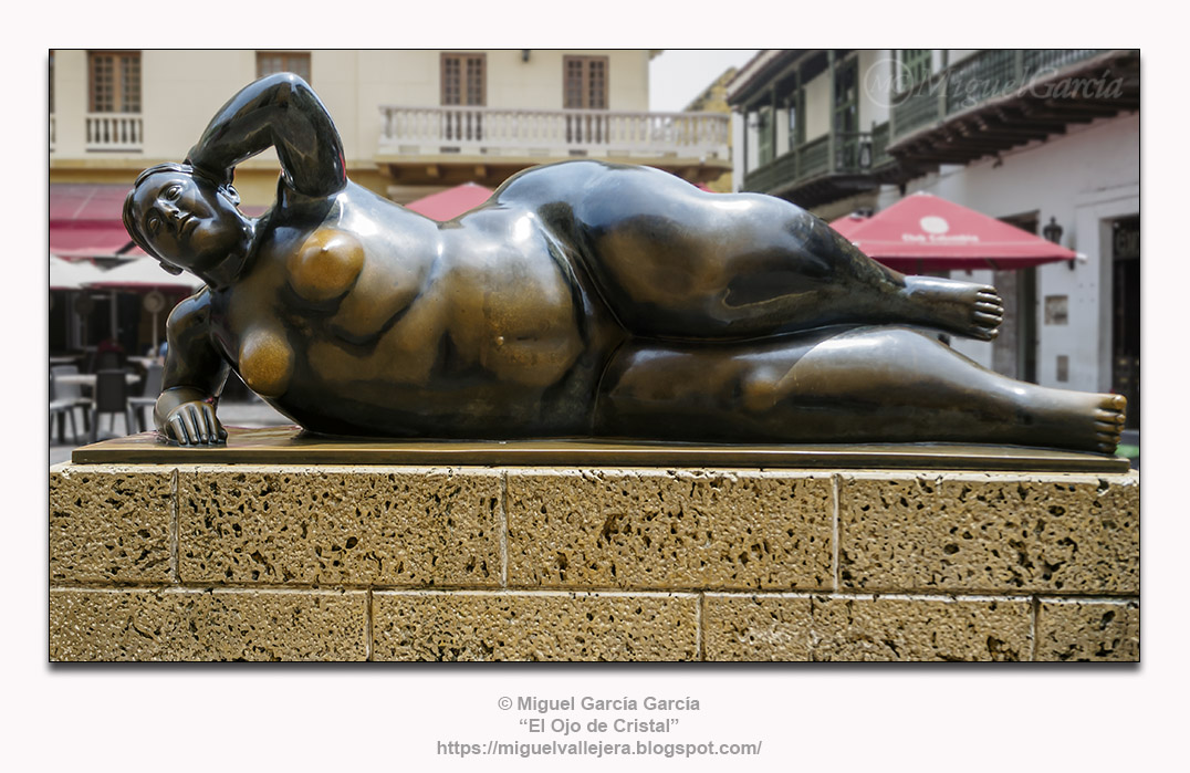 Fernando Botero. Gertrudis, Mujer Reclinada 92